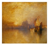 Opalescent Venice Giclee Print by Thomas Moran