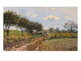 A Path in the Country Giclee Print by Alfred Sisley