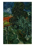 The Garden of Dr. Gachet in Anvers-sur-Oise Giclee Print by Vincent van Gogh