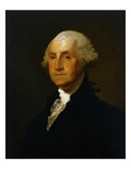 Portrait of George Washington Lámina giclée por Gilbert Stuart