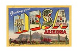 Greeting Card from Mesa, Arizona Giclee Print