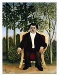 Portrait of Joseph Brummer Giclee Print by Henri Rousseau