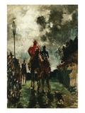 The Jockeys Lámina giclée por Henri de Toulouse-Lautrec