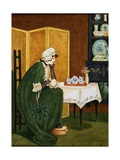 Cross Patch Lift the Hatch Giclee Print by Kate Greenaway