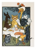 Animal Fair Giclee Print by William W. Denslow