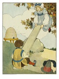 See-Saw Giclee Print by Blanche Fisher Wright
