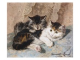 Best of Friends Giclée-Druck von Henriette Ronner-Knip