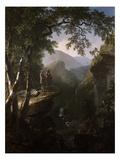 Espíritus afines Lámina giclée por Asher B. Durand