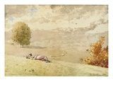 Daydreaming Giclee Print by Winslow Homer