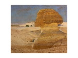 The Great Sphinx at Gizeh Giclee Print by George Price Boyce