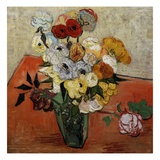 Roses and Anemones Giclee Print by Vincent van Gogh