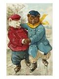 The Ice Bears Beautifully Giclee Print