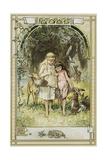 Kinder Und Hausmarchen Book Illustration Giclée-Druck von Hermann Vogel