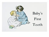 Baby's First Tooth Giclee Print by Bessie Pease Gutmann