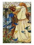 Maiden Song Giclee Print by Florence Harrison