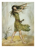 When She Laughed the Wind Laughed Too Giclee Print by Florence Mary Anderson