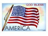 God Bless America Giclee Print by  Lake County Museum