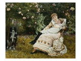 Pleasant Hours Giclee Print by Edward Killingworth Johnson