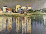 The Banks of the Seine at Argenteuil Photographic Print by Gustave Caillebotte