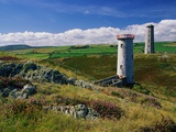 Wicklow Head Lighthouses Photographie par Richard Cummins