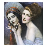 Life-Theatre Number Giclee Print by W.T. Benda