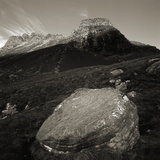 Boulders in Valley near Stac Pollaidh Photographic Print