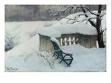 Elbpark, Hamburg Giclee Print by Johan Frederick Thaulow