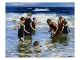 The Bathers Wydruk giclee autor Edward Henry Potthast