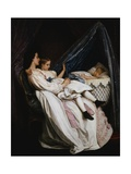 The New Arrival Giclee Print by Auguste Toulmouche
