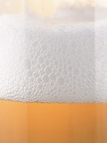 Close-up of a Glass of Lager Fotografie-Druck