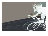 Bike Race Gicl&#233;e-Druck