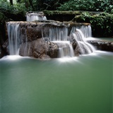 Waterfall Thailand Photographic Print