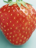 Close-up of a Strawberry Photographic Print