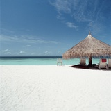 Cabana at the Beach Photographic Print
