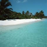 Shallow Water Near a Tropical Beach Photographic Print