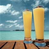 Tropical Cocktails Photographic Print