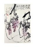 Wisteria Giclee Print by Deng Jiafu