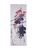 Morning Glories Giclee Print by Baishi Qi