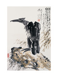Eagle&#39;s Ambition Reproduction proc&#233;d&#233; gicl&#233;e par Deng Jiafu