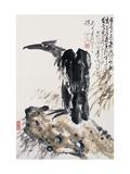 Eagle's Ambition Planscher av Deng Jiafu