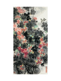 Spring Flowers and Birds Giclee Print by Wanqi Zhang
