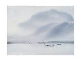 Niebla de la mañana Lámina giclée por Chi Wen