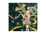 Girl and Phoenix Posters by Yenhuei Hsu