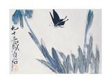 Dancing Butterfly Impression giclée par Baishi Qi