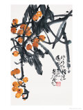 Golden Loquats Giclee Print by Deng Jiafu