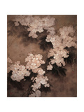 White Flowers Giclee Print by Minrong Wu