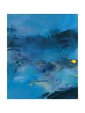Mind as a Sea 1 Giclee-trykk av Pihua Hsu