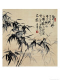 Birdlike Bamboo Leaves Giclee Print by Huachazc Lee