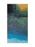 Purple Bellflowers Giclee Print by Chingkuen Chen