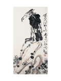 Lone Eagle Reproduction proc&#233;d&#233; gicl&#233;e par Deng Jiafu